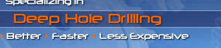 Specializing in Deep Hole Drilling